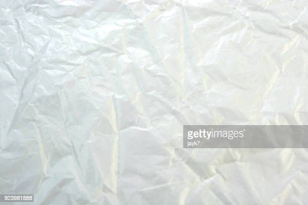 Crumpled Plastic Sheet