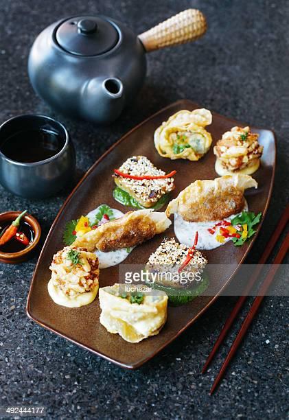 Crunchy dumplings