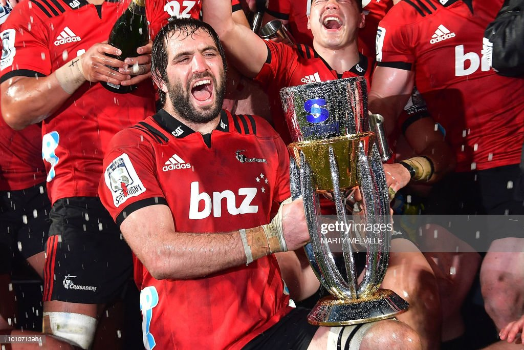RUGBYU-SUPER-CRUSADERS-LIONS : News Photo