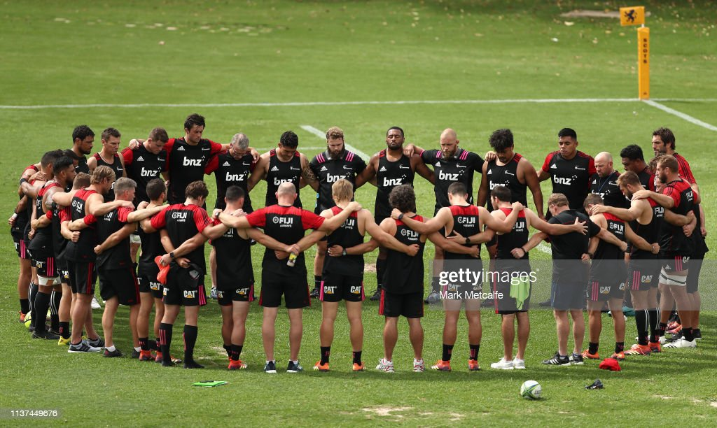 AUS: Crusaders Training Session