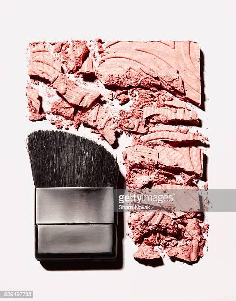 Crushed Blush with Brush