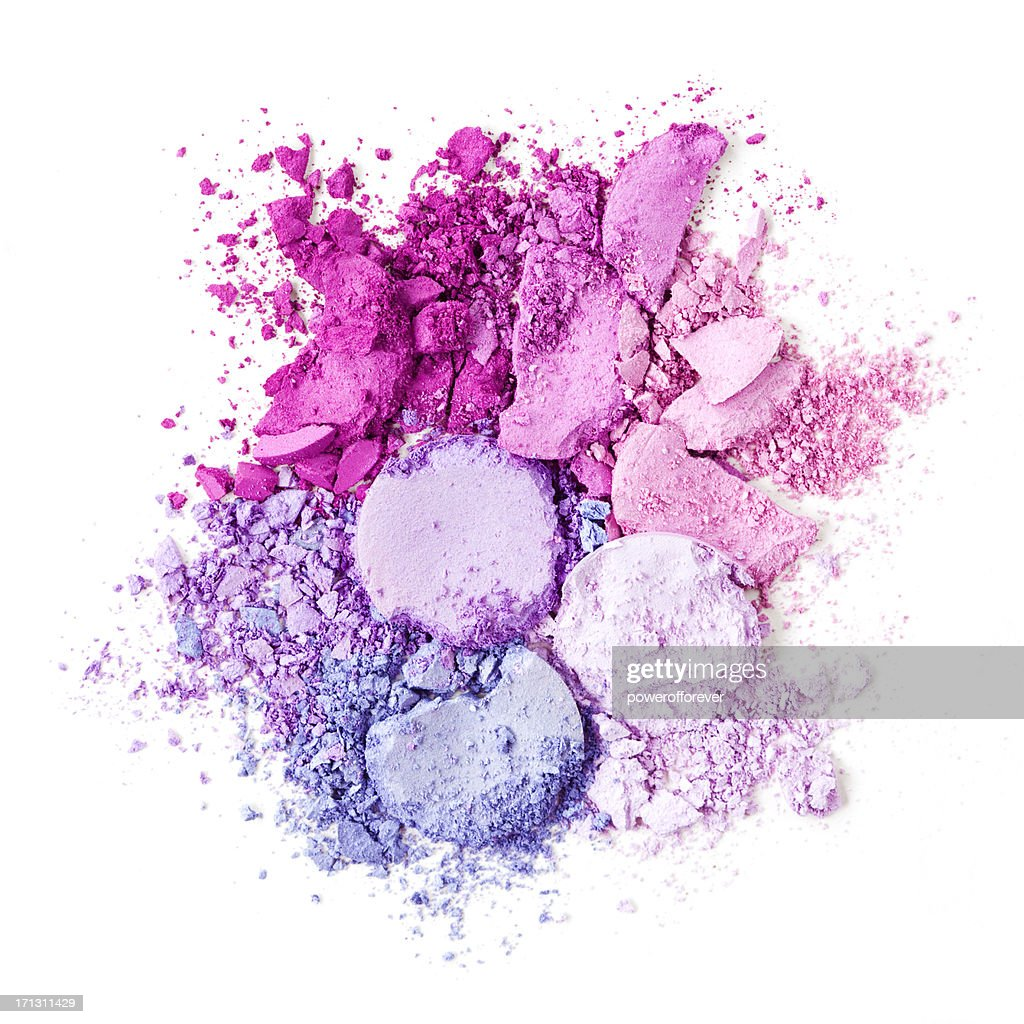 Crushed Eyeshadow : Stock Photo