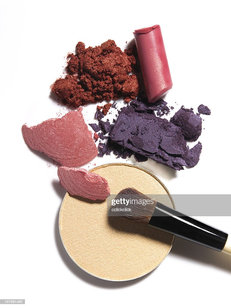 Crushed Makeup : Stock Photo