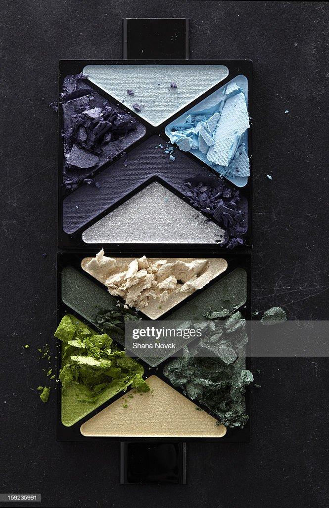 Crushed Powder Eyeshadow : Stock Photo