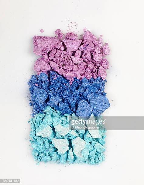 crushed powder eyeshadow - eyeshadow stock pictures, royalty-free photos & images