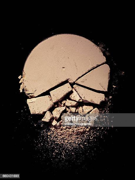 crushed powder foundation - off white stock pictures, royalty-free photos & images