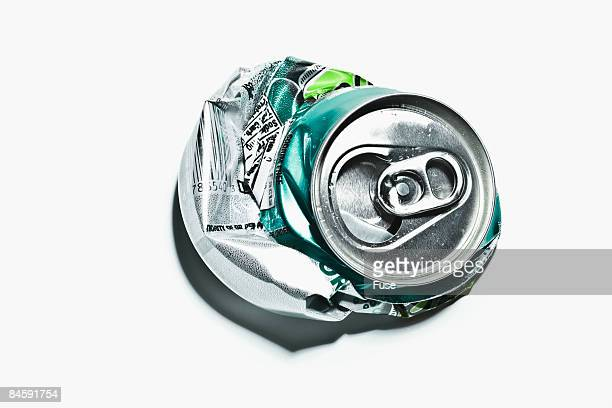Crushed Soda Can