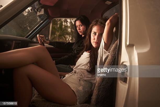 crusing - hot legs stock photos and pictures