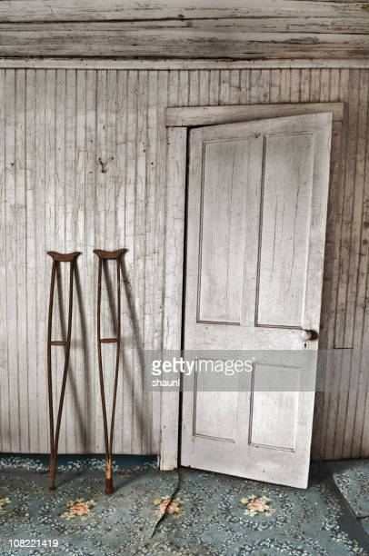 Crutches by the Door