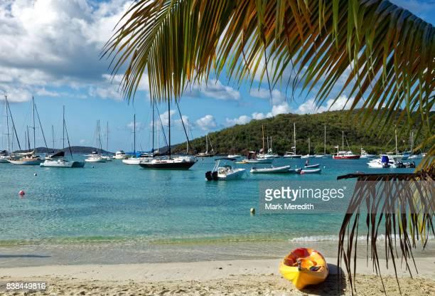 Cruz Bay beach, St John, US Virgin Islands