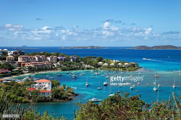 Cruz Bay in St John, US Virgin Islands