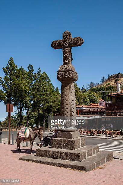 cruz de tejeda - tejeda stock pictures, royalty-free photos & images