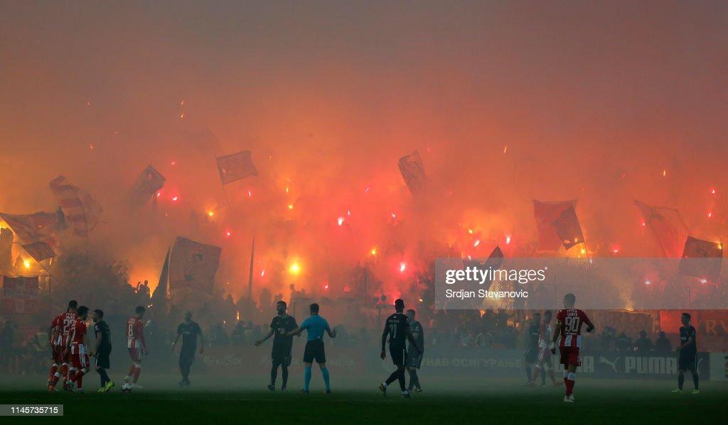 FK Crvena Zvezda v FK Partizan - Serbian Cup Final : ニュース写真