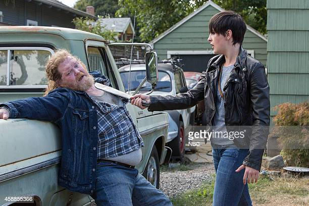 "Cry Luison"" Episode 405 -- Pictured: Donald MacEllis as Shaw, Jacqueline Toboni as Trubel --"