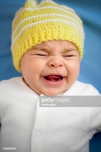 Crying 2 Months Old Baby Girl