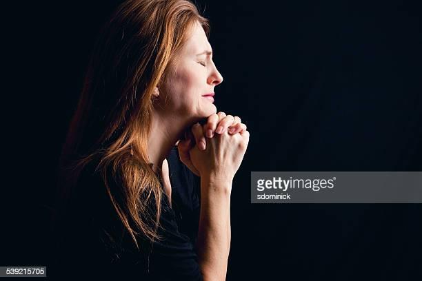 Crying Woman Praying