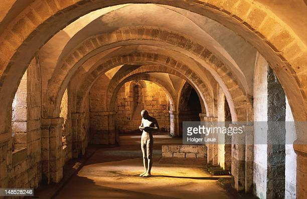 Crypt, WInchester Cathedral.