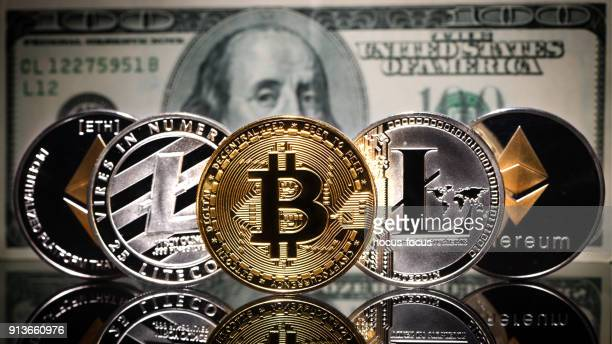 Crypto currency on dollars