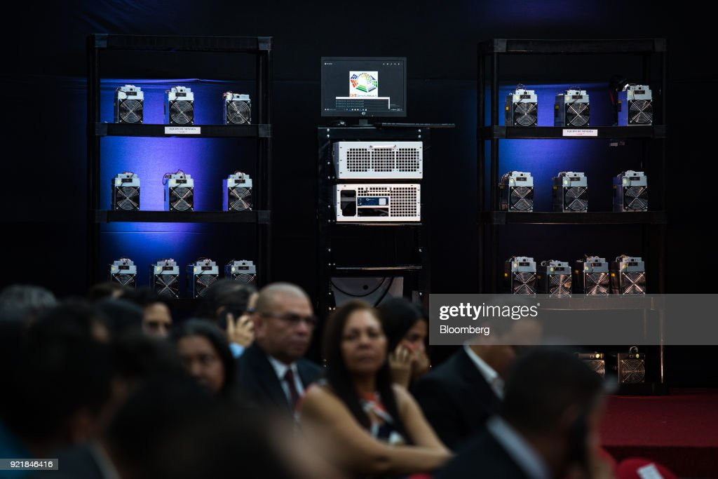 President Maduro Launches First Sale Of Petro Cryptocurrency : News Photo