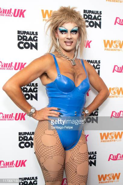 Crystal attends RuPaul's DragCon 2019 at The Jacob K Javits Convention Center on September 08 2019 in New York City