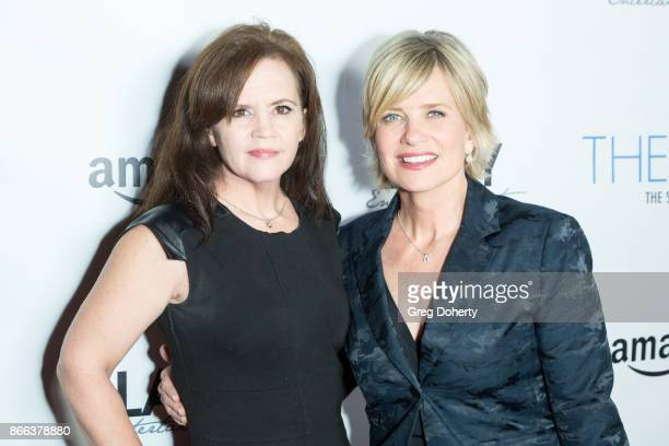 Crystal Ayers and Mary Beth Evans attends the Cast Premiere Screening Of Lany Entertainment's 'The Bay' Season 3 at TCL Chinese Theatre on October 23...