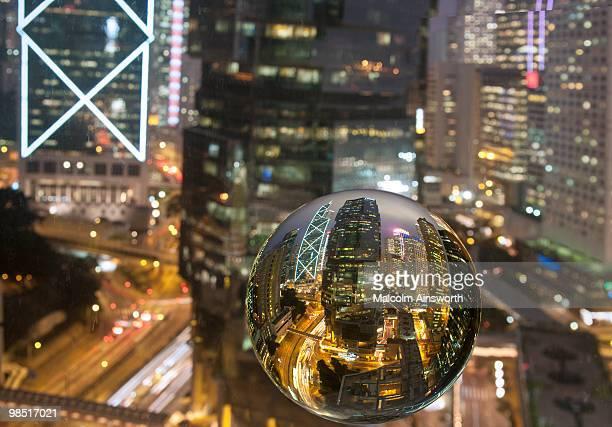 Crystal Ball Gazing at Hong Kong Business District