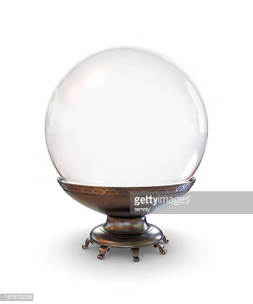 crystal ball - sports ball stock pictures, royalty-free photos & images