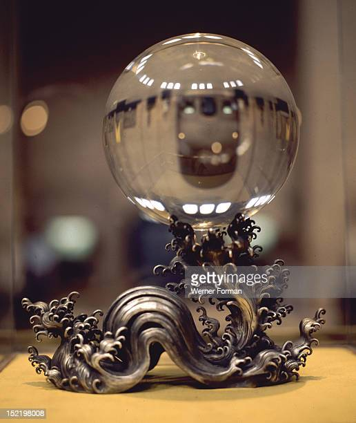 Crystal ball which belonged to Empress Dowager Tzu hsi the last Empress of China China Chinese 19th century