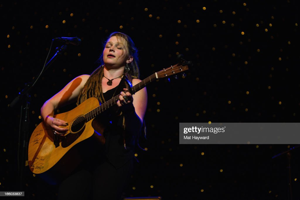 Crystal Bowersox performs at the Triple Door Theater on April 7, 2013 in Seattle, Washington.