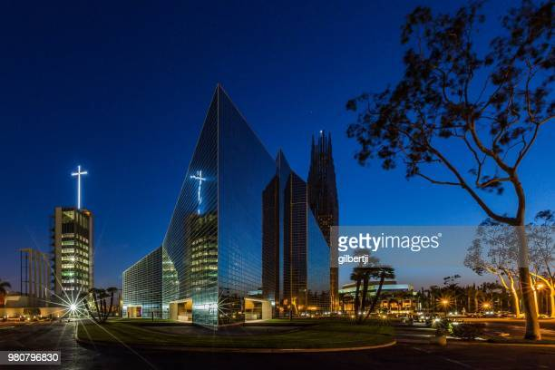 crystal cathedral - crystal cathedral stock pictures, royalty-free photos & images