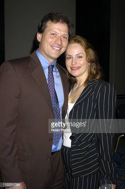 Crystal Chappell and Michael Sabatino during 31st Annual NATAS Daytime Emmy Craft Awards at The Marriott Marquis Hotel in New York, New York, United...