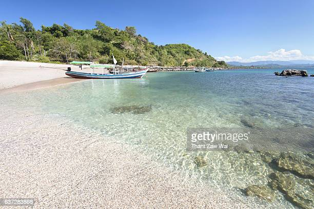 Crystal Clear Water and Tour Boats