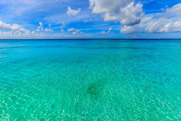 Crystal clear water of Barbados