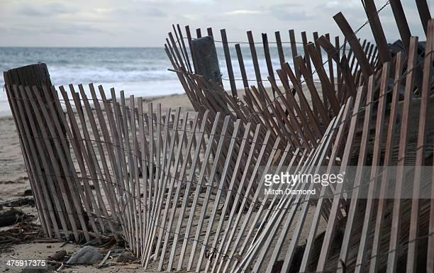 Crystal Coce beach fence