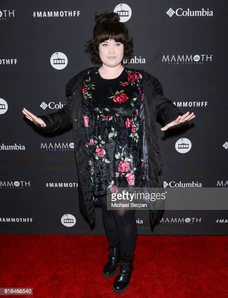 Crystal Correa arrives at Unsolved The Murders Of Tupac and The Notorious BIG at Inaugural Mammoth Film Festival Day 2 on February 9 2018 in Mammoth...