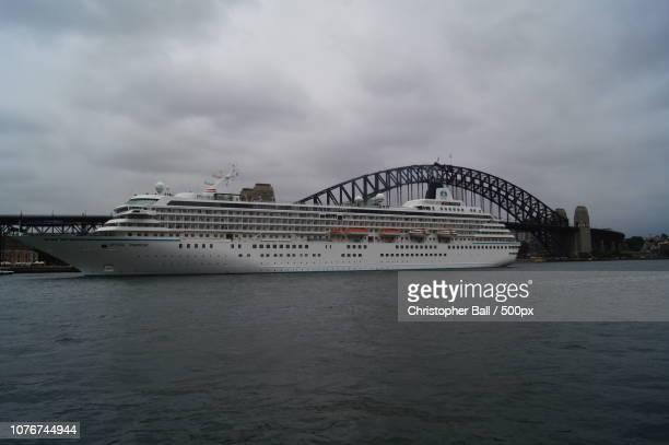 Crystal Cruise Ship In Sydney