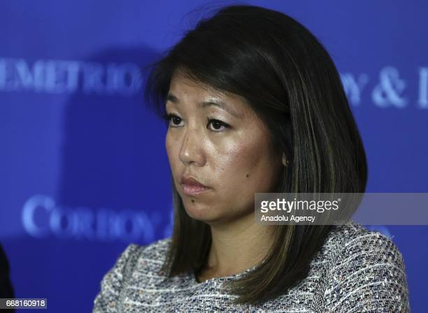 Crystal Dao Pepper daughter of David Dao who was dragged off the plane after United Airlines' overbook application sold a ticket to two people on...