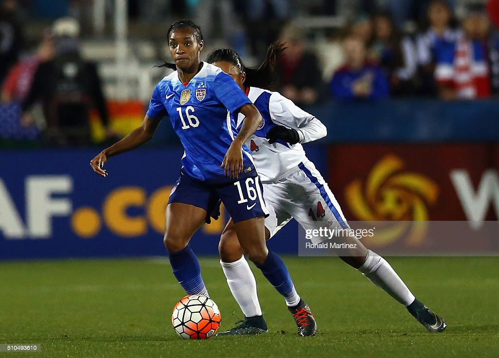 United States v Puerto Rico: Group A - 2016 CONCACAF Women's Olympic Qualifying : News Photo
