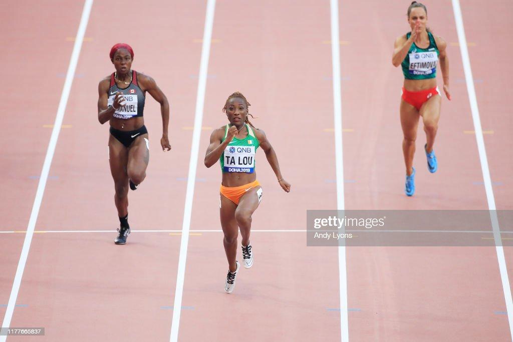 17th IAAF World Athletics Championships Doha 2019 - Day Two : ニュース写真