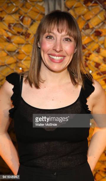 Crystal Finn attends the opening night press reception for the Roundabout Theatre Company/Roundabout Underground production of 'Bobbie Clearly' at...