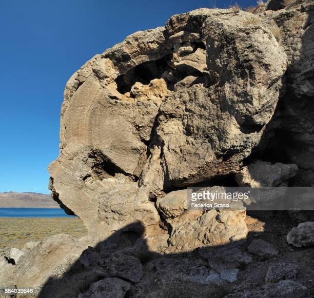 Crystal Formations And Tufa Mounds At Pyramid Lake