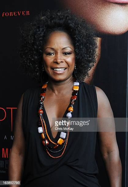 Crystal Fox attends the Tyler Perry's Temptation Confessions Of A Marriage Counselor Atlanta Screening at AMC Parkway Pointe on March 16 2013 in...