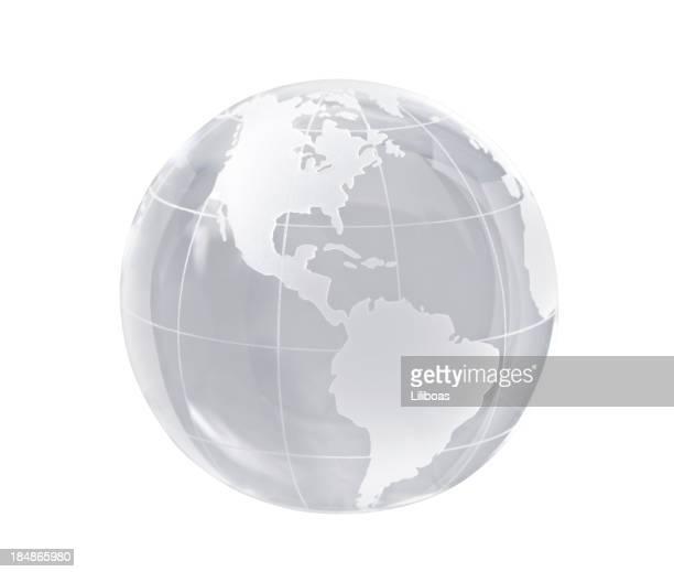 Globe en cristal