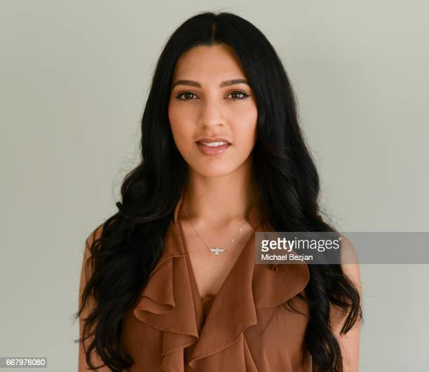 Crystal Gonzales poses for portrait at The Artists Project on April 12 2017 in Los Angeles California