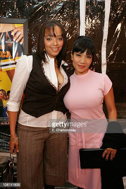Crystal Grant and Emy Coligado during Kids in America Los Angeles Premiere at Egyptian Theater / Highlands in Hollywood California United States
