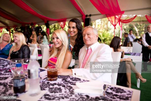 Crystal Harris 2013 Playmate of the Year Raquel Pomplun and Hugh Hefner attend Playboy's 2013 Playmate of the Year luncheon honoring Raquel Pomplun...