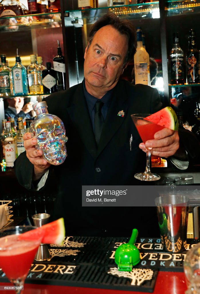 Dan Aykroyd Hosts Crystal Head Vodka Cocktail At The Sanctum Hotel