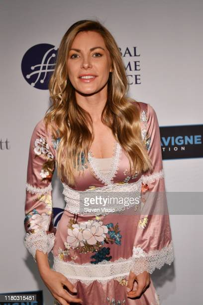 Crystal Hefner attends the Global Lyme Alliance fifth annual New York City Gala on October 10 2019 in New York City