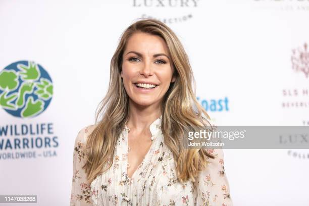 Crystal Hefner attends the Steve Irwin Gala Dinner at SLS Hotel on May 04 2019 in Beverly Hills California