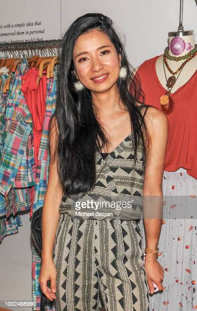 Crystal Hsu attends Kindom Summer Soiree at Alchemy Works on July 19 2018 in Los Angeles California